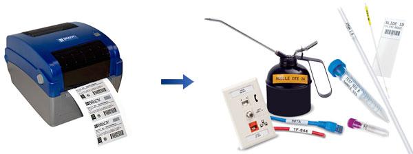 BBP11 台式热转移标签打印机